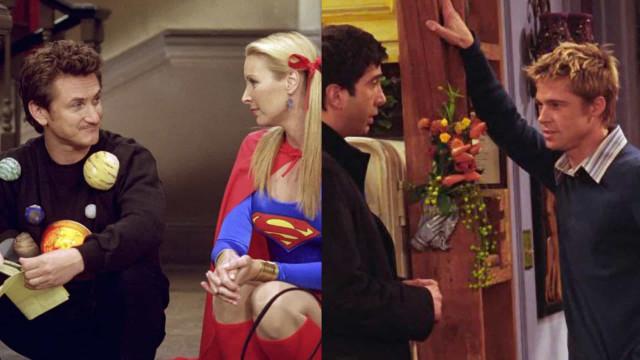 Famosos que fizeram participações épicas em 'Friends'