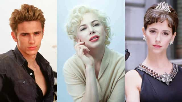 Actors who played other actors on screen