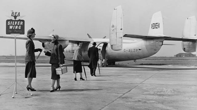 Airports in their vintage heyday