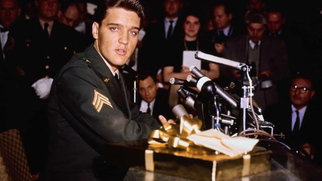 Vintage celebrity press conferences