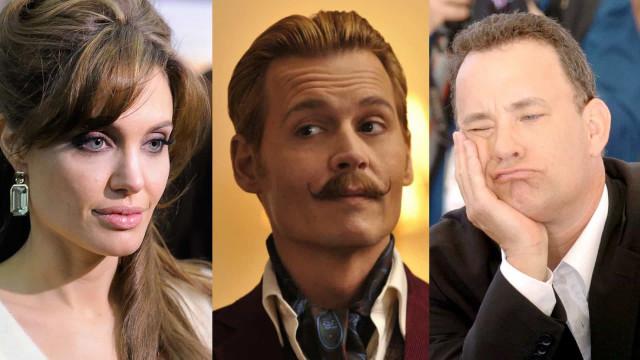De slechtste films die deze acteurs ooit hebben gemaakt