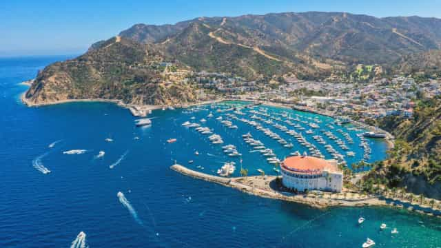 Exploring glamorous Santa Catalina Island