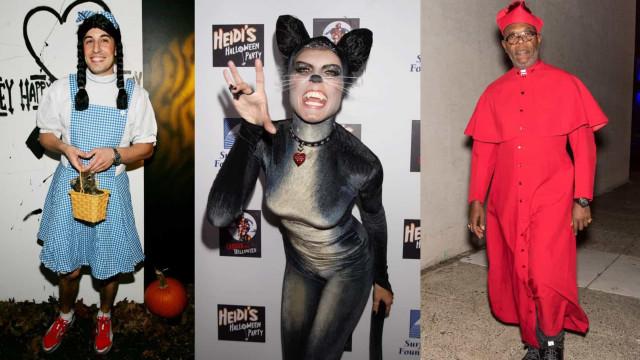 As melhores (e piores) fantasias de Halloween de celebridades