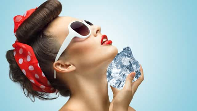 Why ice facials are the latest celebrity beauty trend