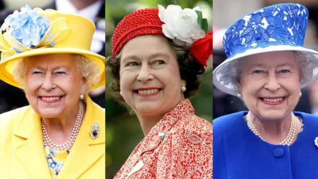 Head of State: Queen Elizabeth II's hat style over the years