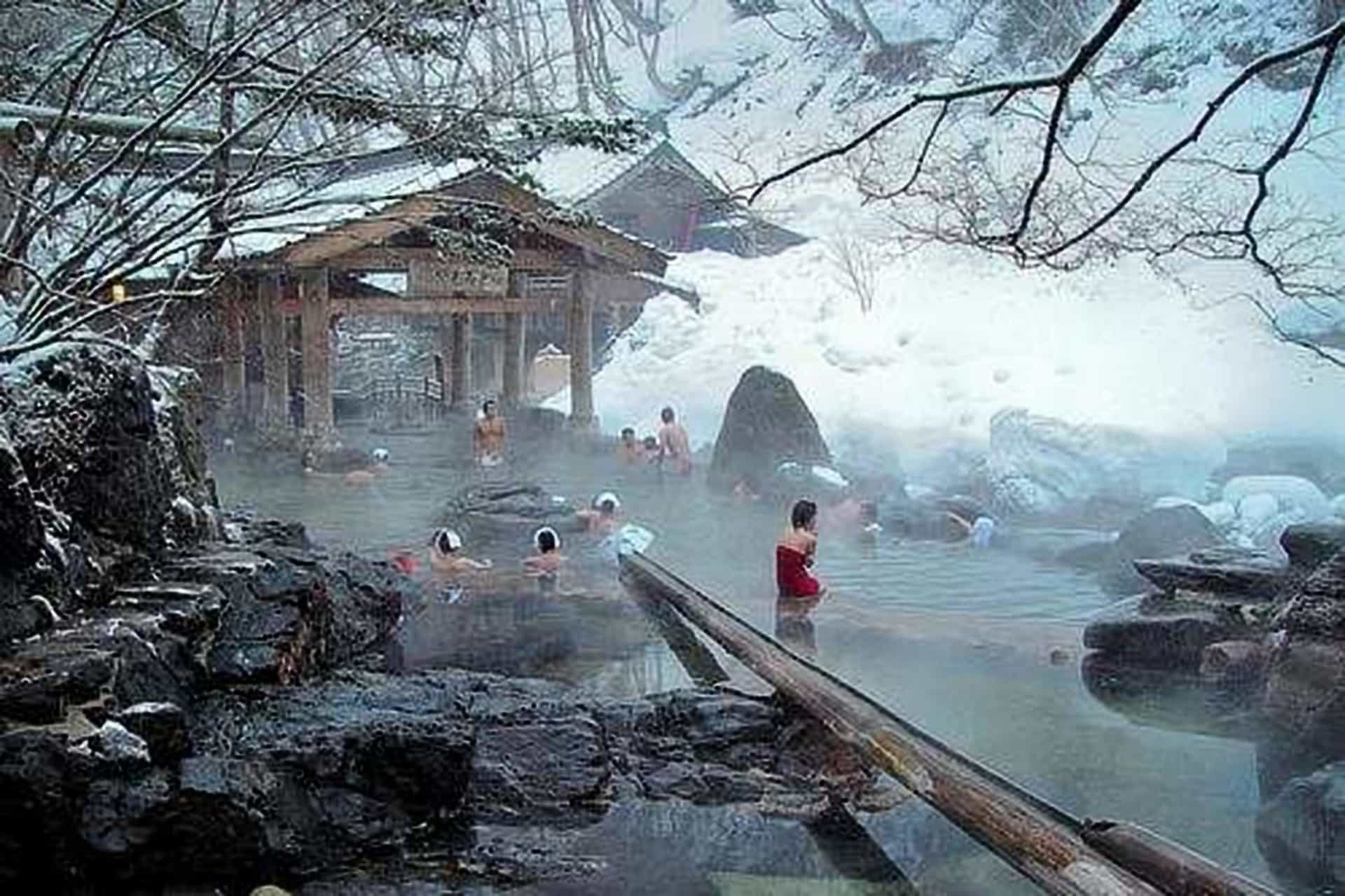 30 hot springs to help you recover health and happiness!
