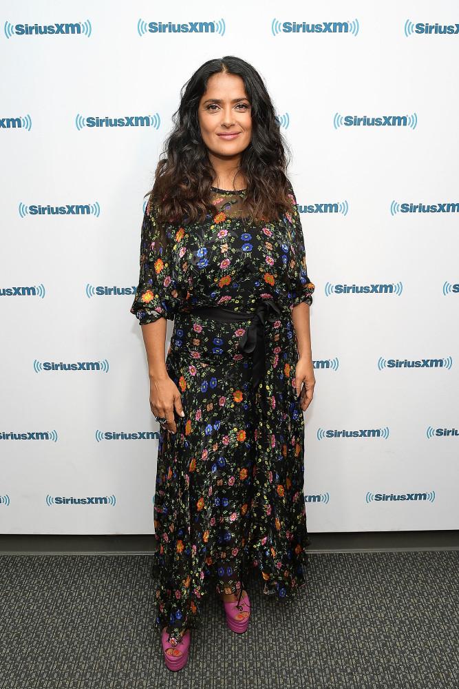 De stijlevolutie van Salma Hayek