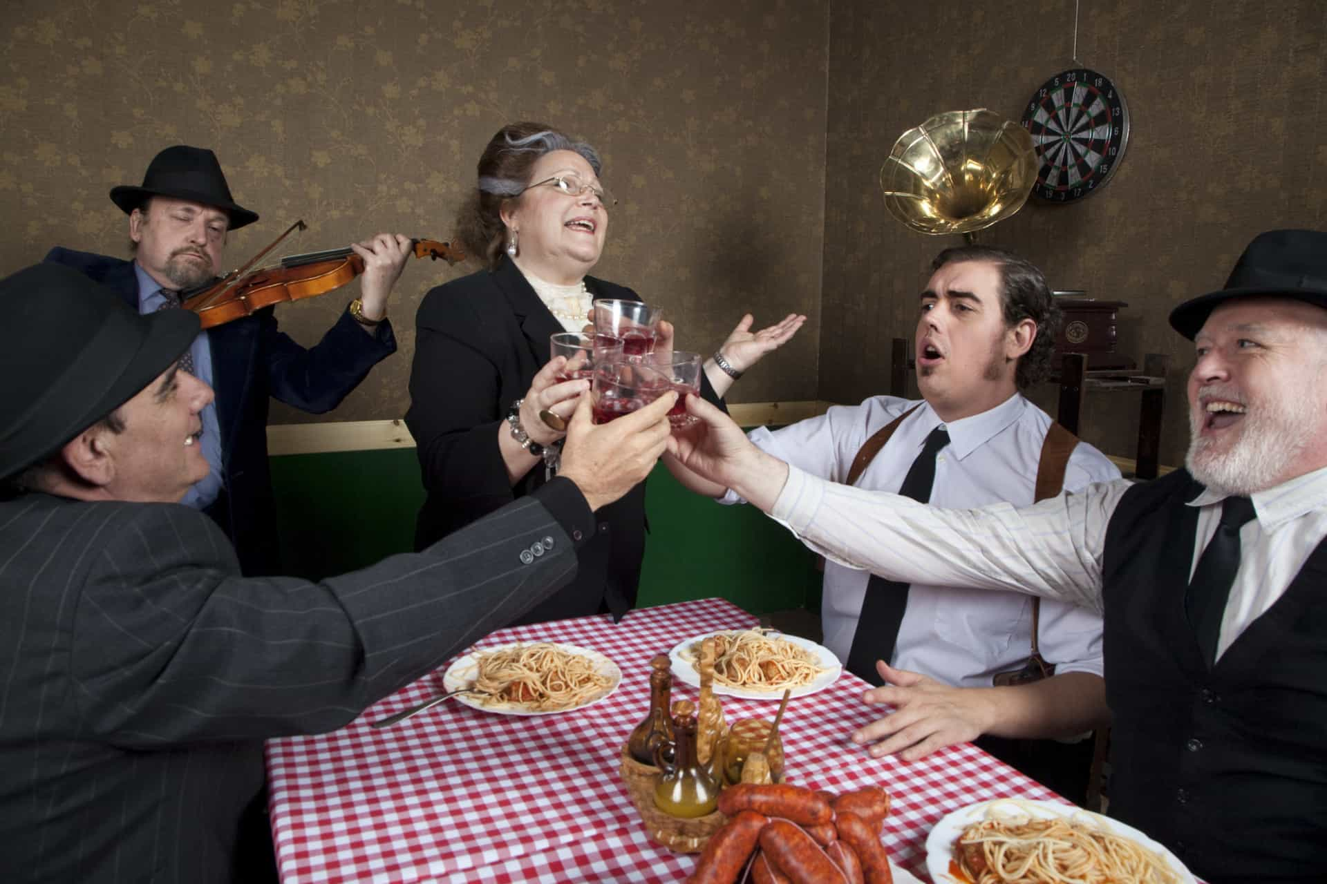 Pizza, pasta, and other common Italian stereotypes