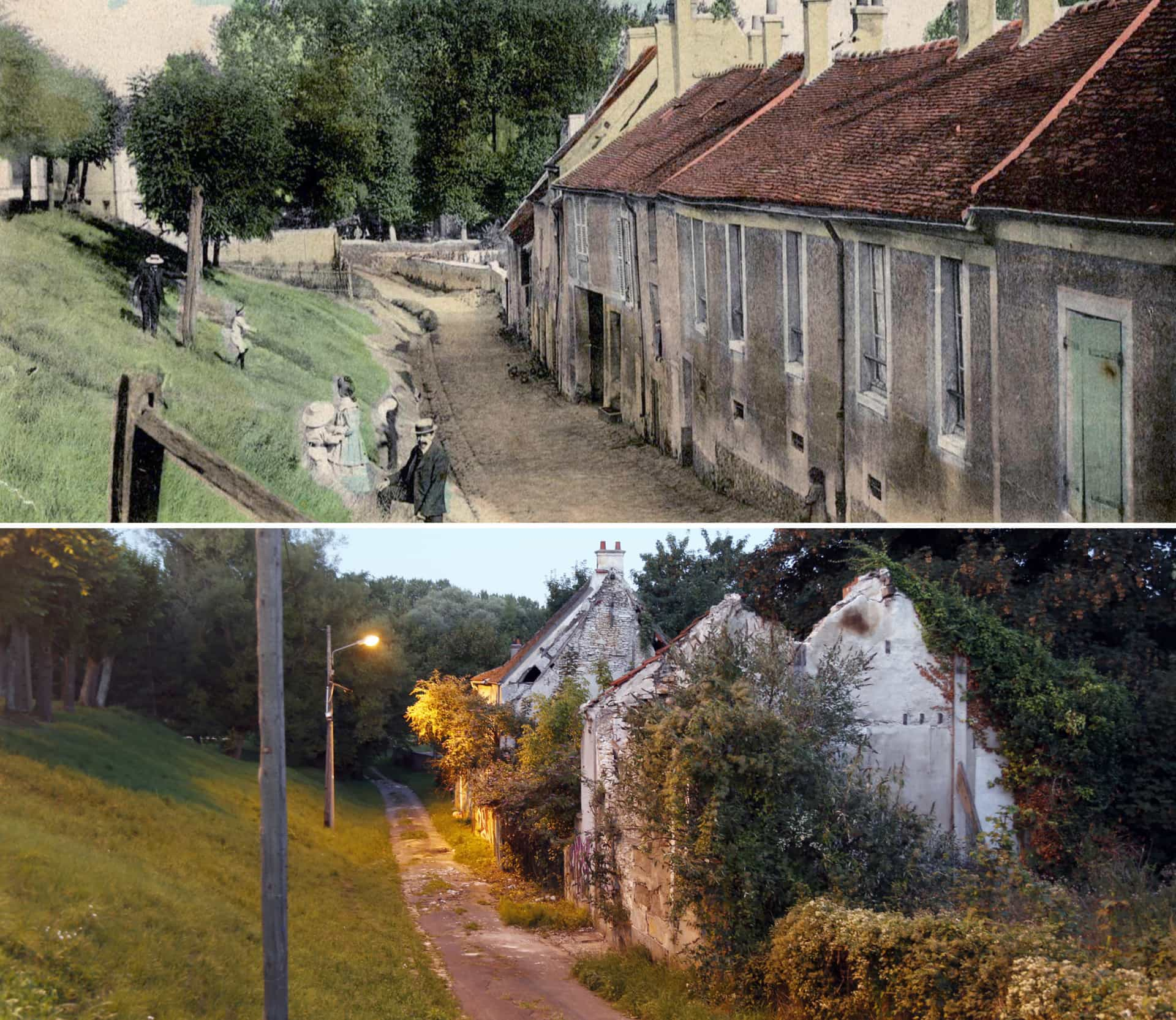 This derelict French village is anything but silent