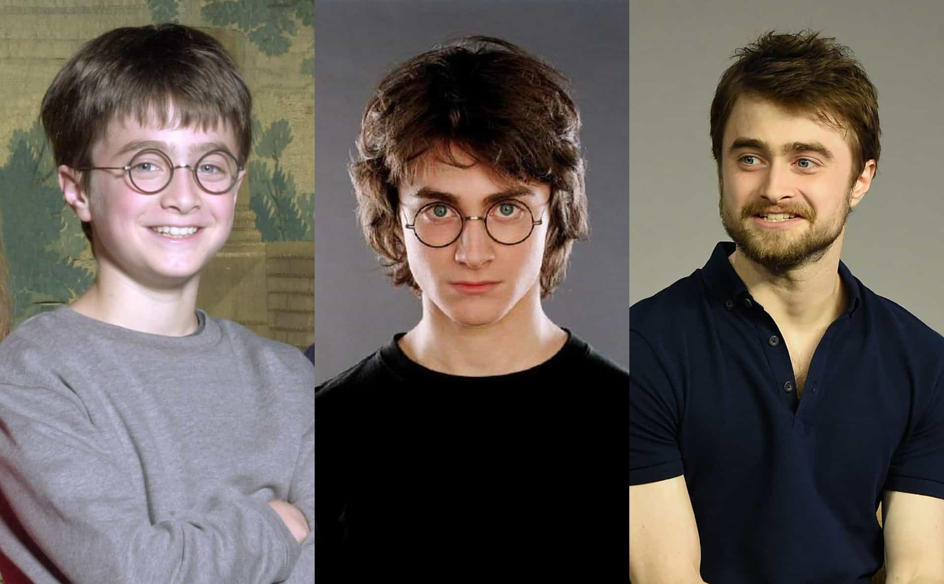 Endearing photos of Daniel Radcliffe growing up
