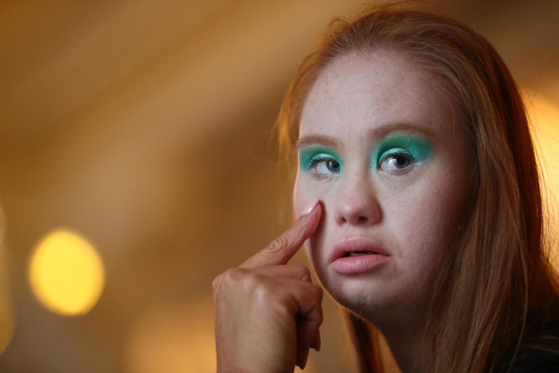 Madeline Stewart: Das erste Model der Welt mit Downsyndrom