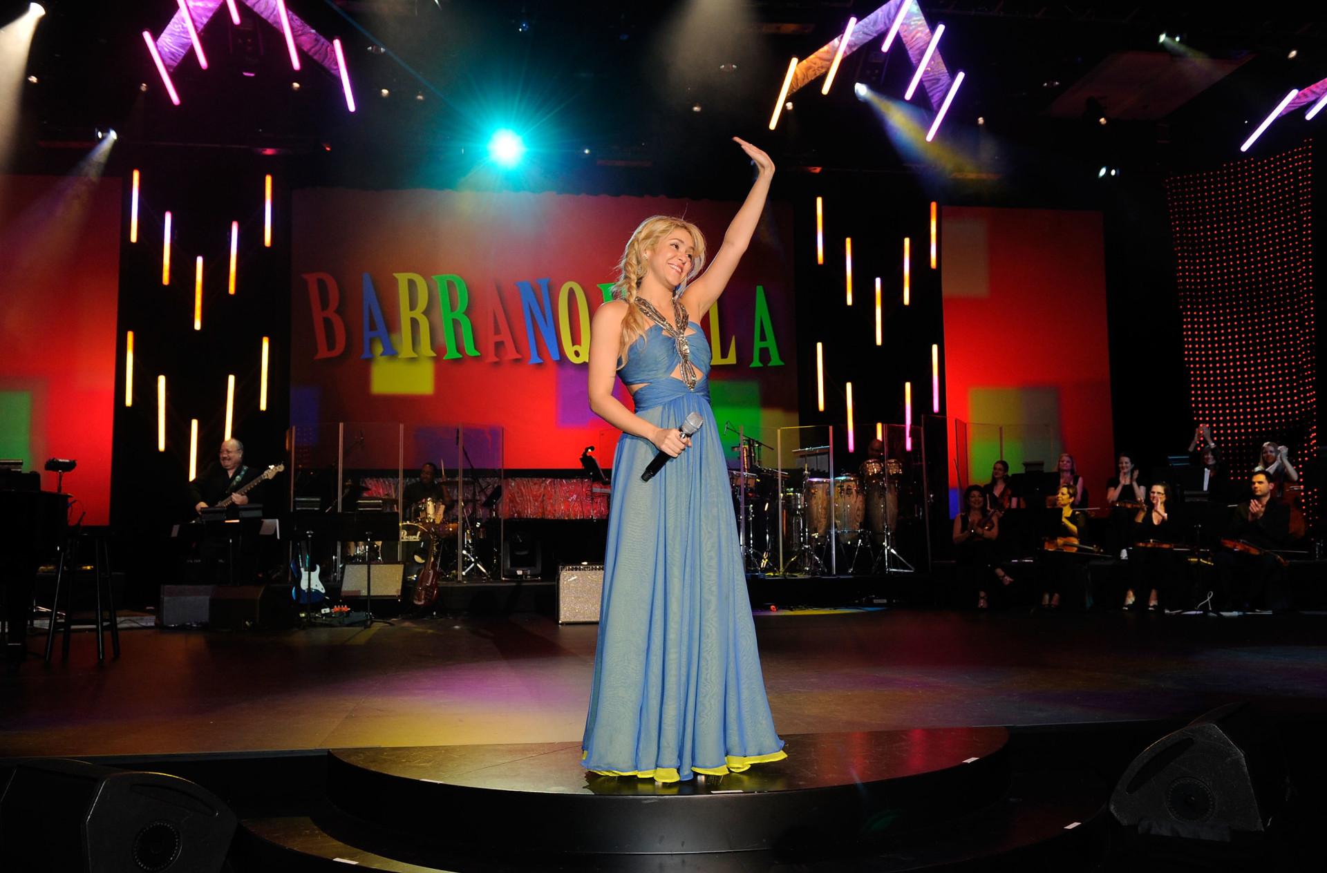 Shakira's world of music and fashion