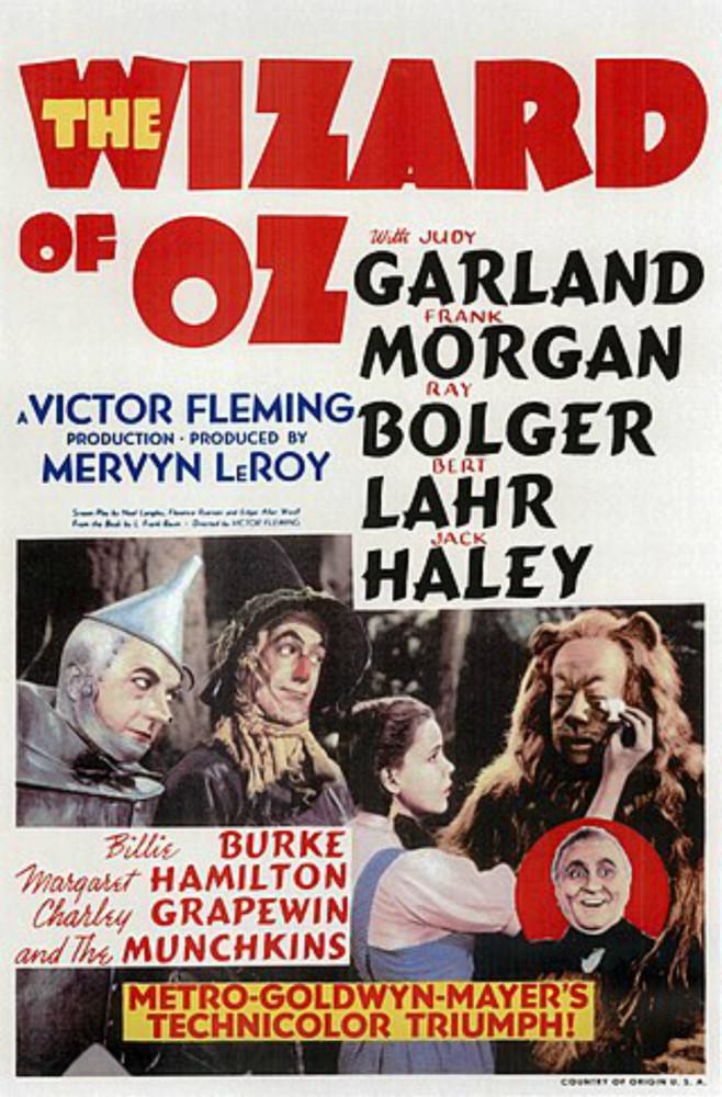 Klassikkoelokuvat Tuulen viemää ja Ihmemaa Oz täyttävät tänä vuonna 80 vuotta!