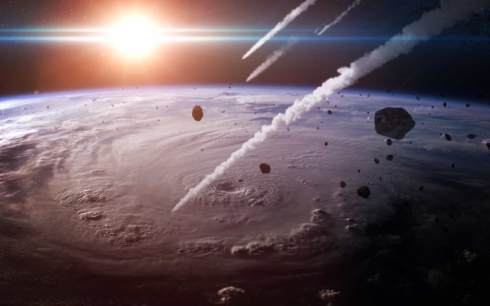 Asteroids that almost hit our planet