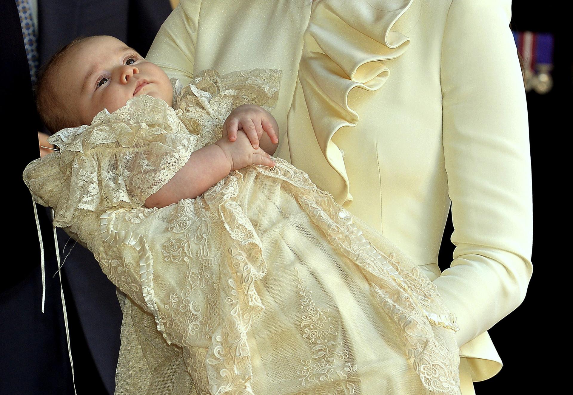 A fofura dos pequenos da realeza britânica