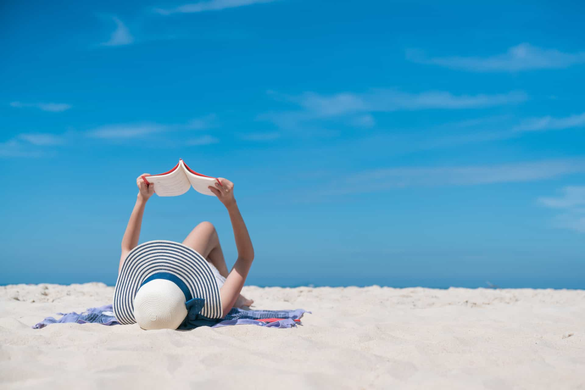 How to beat boredom at the beach